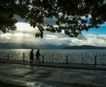 Ioannina Walks: The Lake Pamvotis