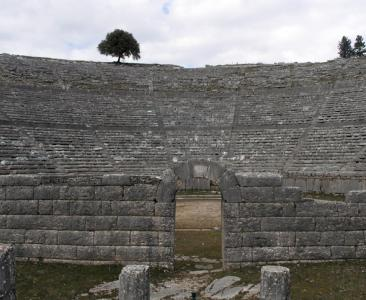 The Theater by the Oracle - Dodoni